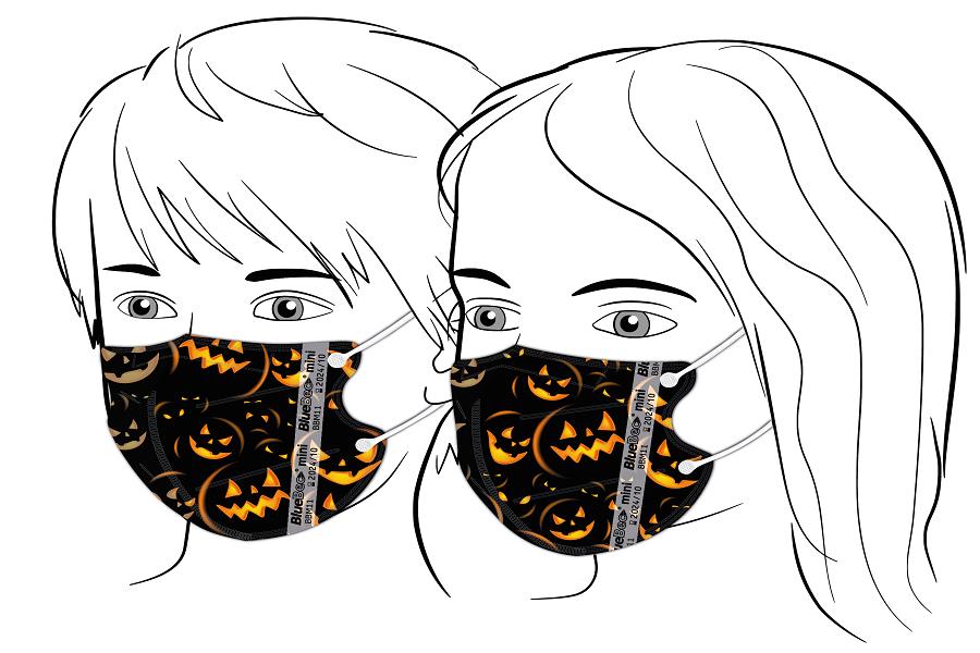 BlueBec® Mini-Maske BBM11 – Halloween 3, 10er Box