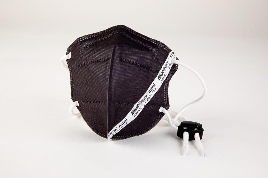 BlueBec® Mini-Maske BBM02 – schwarz, 10er Box.