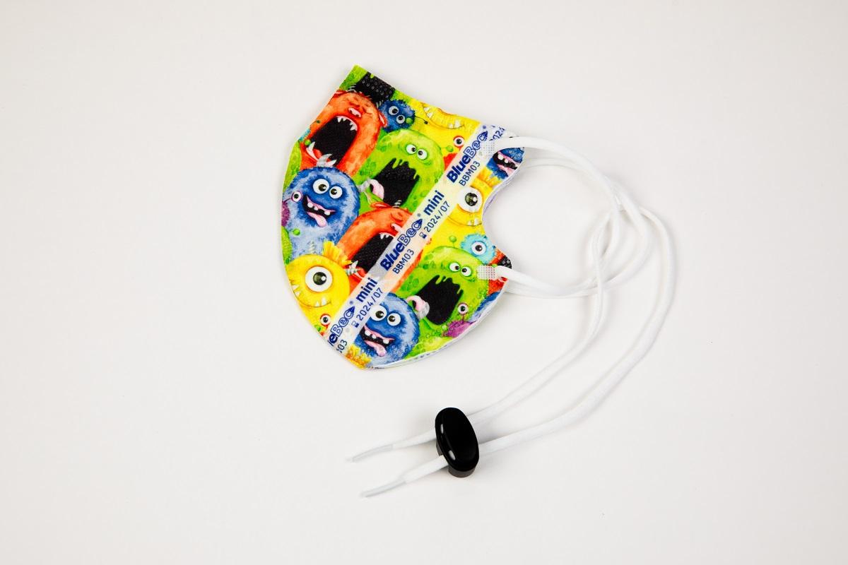 BlueBec® Mini-Maske BBM03 – Monster, 10er Box.