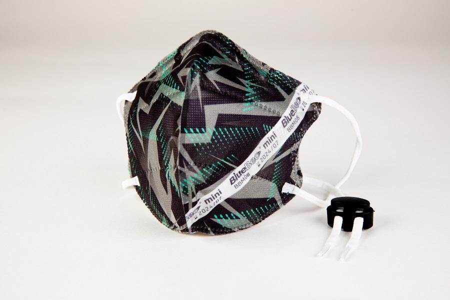 BlueBec® Mini-Maske BBM08 – Techno, 10er Box.