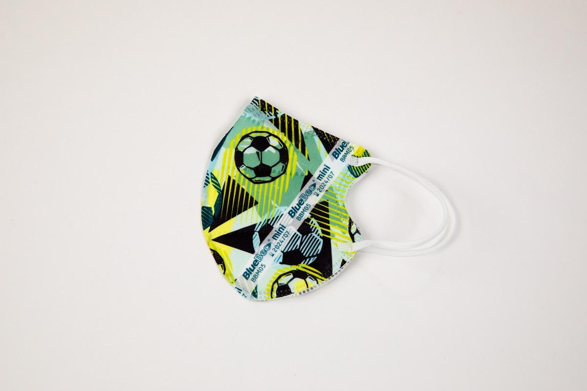 BlueBec® Mini-Maske BBM05 – Fußball, 10er Box.