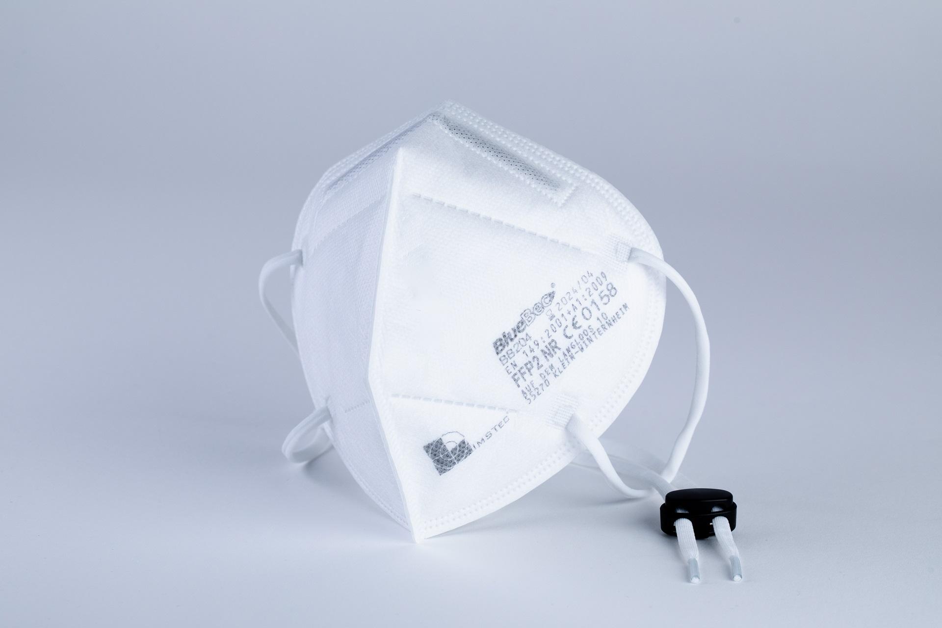 BlueBec® BB204, 1000er Karton FFP2-Masken, CE-zertifiziert (CE 0158)